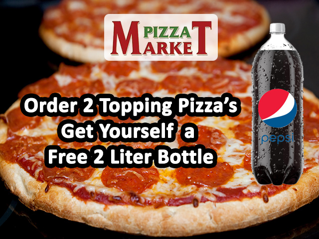 Pizza Market - Business Coupon